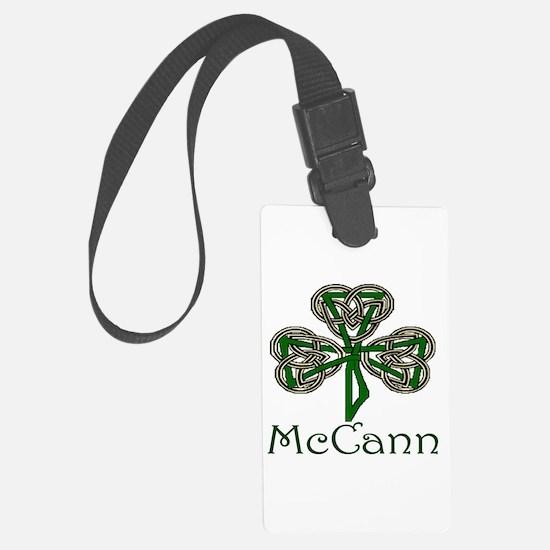McCann Shamrock Luggage Tag