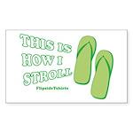 thisishowistroll Sticker (Rectangle 50 pk)
