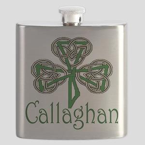 Callaghan Shamrock Flask