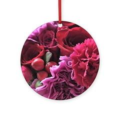 beautiful bouquet Round Ornament