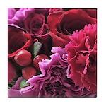 beautiful bouquet Tile Coaster