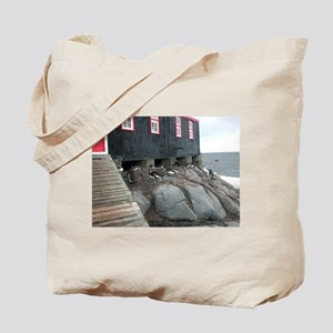 Port Lockroy Tote Bag