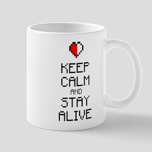 Keep calm stay alive 2c Mug