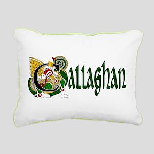Callaghan Celtic Dragon Rectangular Canvas Pillow