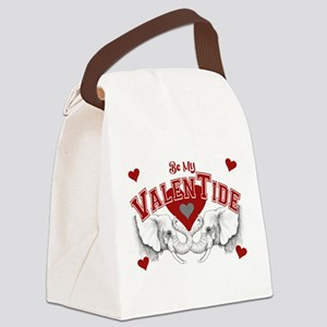 valentide Canvas Lunch Bag