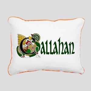 Callahan Celtic Dragon Rectangular Canvas Pillow