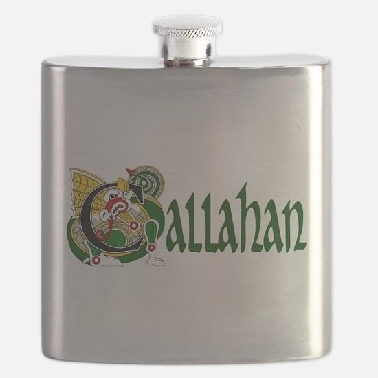 Callahan Celtic Dragon Flask
