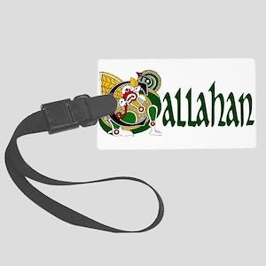 Callahan Celtic Dragon Large Luggage Tag