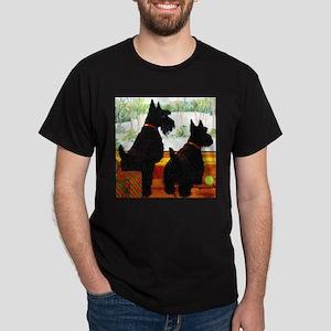 A Scottie Christmas Dark T-Shirt