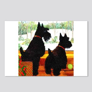 A Scottie Christmas Postcards (Package of 8)