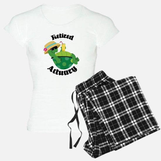 Retired Actuary Gift Pajamas