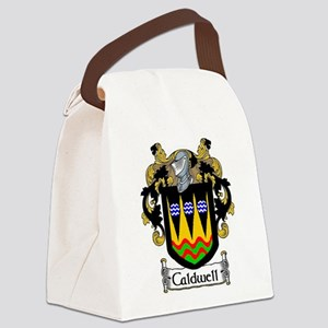 Caldwell Coat of Arms Canvas Lunch Bag
