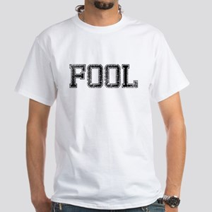 FOOL, Vintage White T-Shirt
