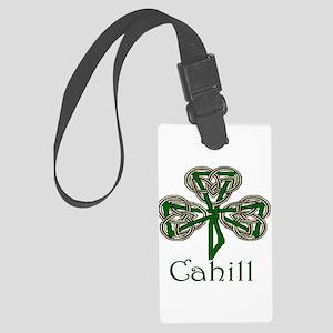 Cahill Shamrock Large Luggage Tag