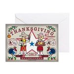 Wester Thanksgiving Greeting Card