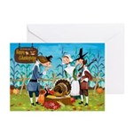 Happy Pilgrims Greeting Cards (Pk of 10)