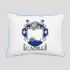 Cahill Coat of Arms Rectangular Canvas Pillow