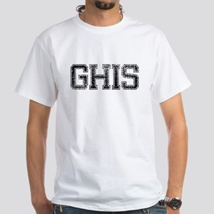 GHIS, Vintage White T-Shirt