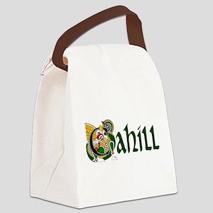 Cahill Celtic Dragon Canvas Lunch Bag