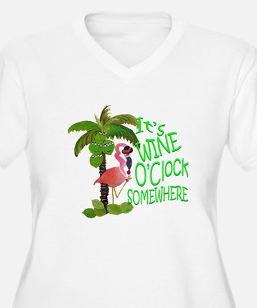 Its Wine OClock Somewhere T-Shirt