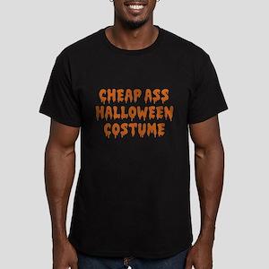 Cheap Ass Halloween Costume Men's Fitted T-Shirt (