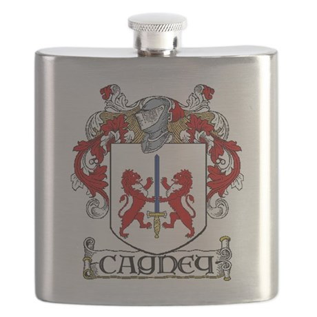 Cagney Coat of Arms Flask