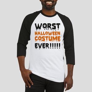 Worst Halloween Costume Ever!!!!! Baseball Jersey