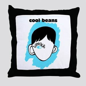 "WONDER ""Cool Beans"" Throw Pillow"