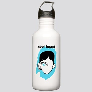 """WONDER """"Cool Beans"""" Stainless Water Bottle 1.0L"""