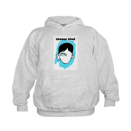 "WONDER ""choose kind"" Kids Hoodie"