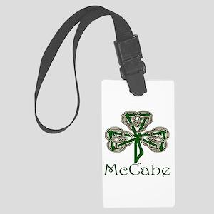 McCabe Shamrock Large Luggage Tag