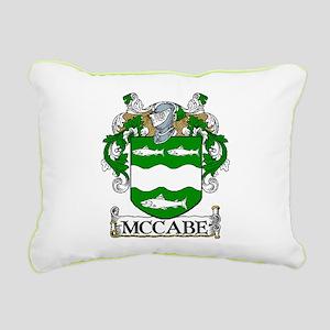 McCabe Coat of Arms Rectangular Canvas Pillow