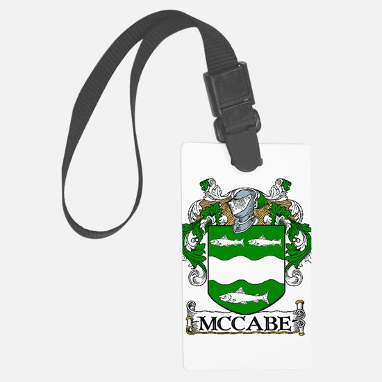 McCabe Coat of Arms Luggage Tag