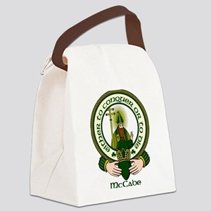 McCabe Clan Motto Canvas Lunch Bag