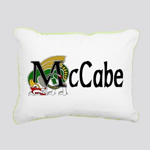 McCabe Celtic Dragon Rectangular Canvas Pillow