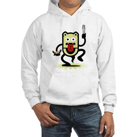 Grilling BBQ Monster (only) Hooded Sweatshirt