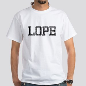 LOPE, Vintage White T-Shirt