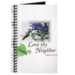 Love Thy Neighbor cup Journal