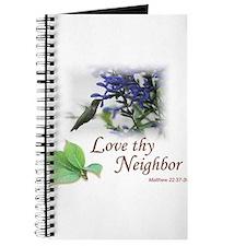 Love Thy Neighbor cup Journal