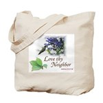 Love Thy Neighbor cup Tote Bag