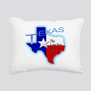 Texas Rectangular Canvas Pillow