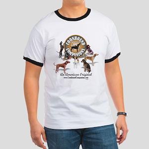 Logo + hounds Ringer T