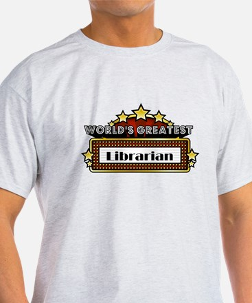 World's Greatest Librarian T-Shirt