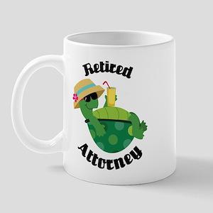 Retired Attorney Gift Mug