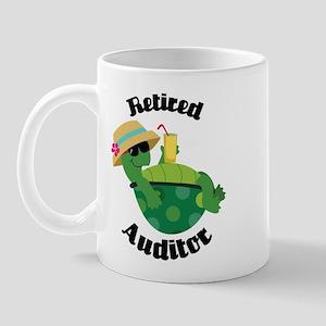 Retired Auditor Gift Mug