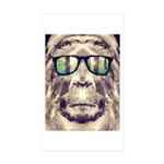 Sasquatch Incognito Sticker (Rectangle 50 pk)
