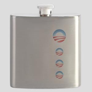 obama emblems cafepress Flask