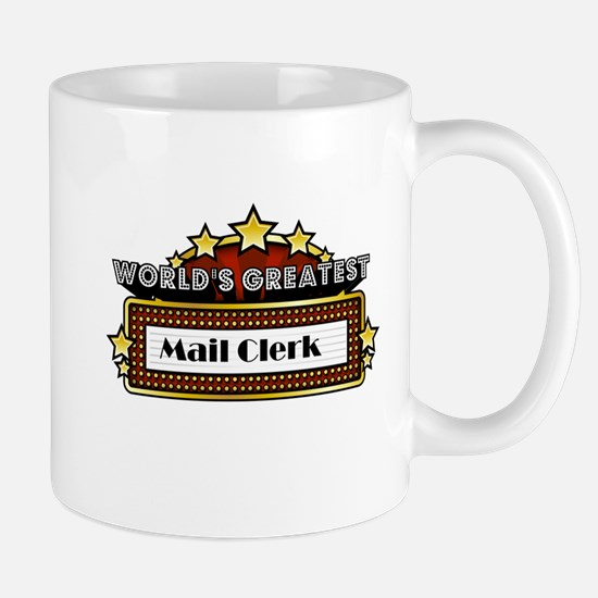World's Greatest Mail Clerk Mug