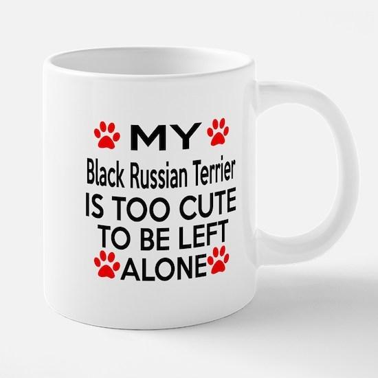 Black Russian Terrier Is Too Cute Mugs