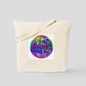 Peace Please! Tote Bag